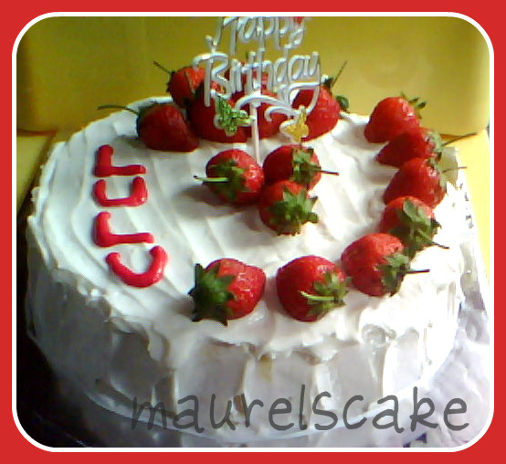 Birthday Cake Pictures Romantic : Romantic Birthday Cake for Lulu Maurels Cake